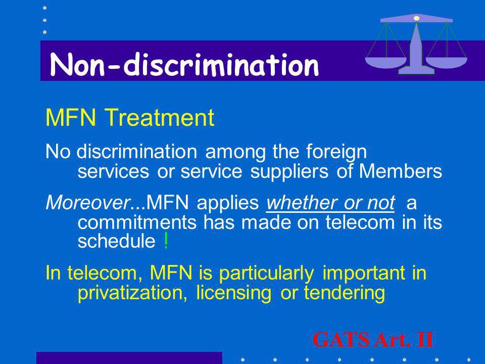 Interconnection Dispute Settlement A service supplier...