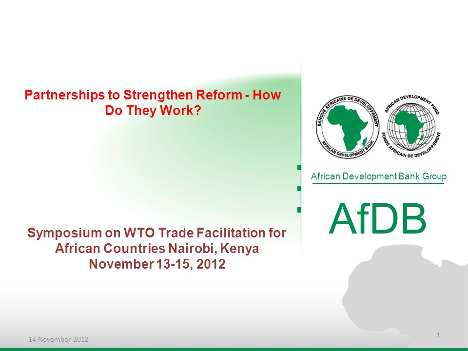 Partnerships to Strengthen Reform - How Do They Work.