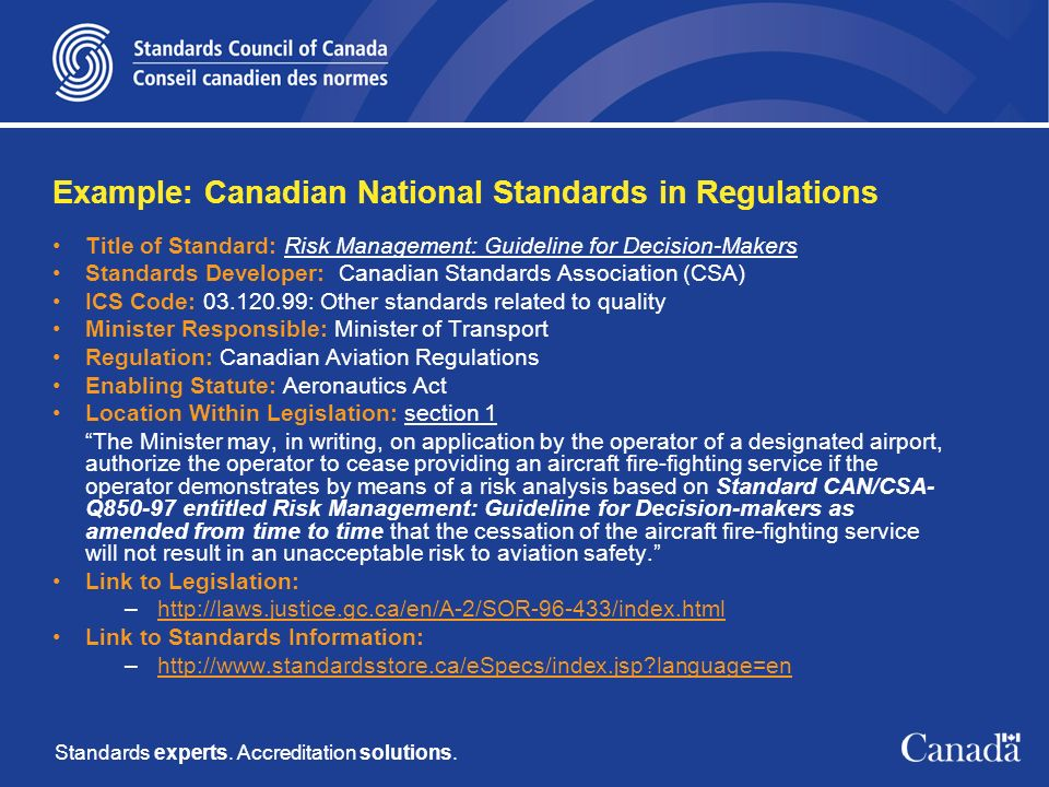 Standards experts. Accreditation solutions.