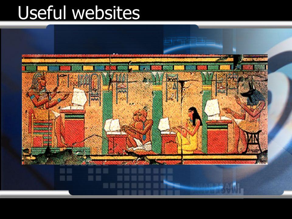 Useful websites www.mcit.gov.eg www.citegypt.com www.ntra.gov.eg