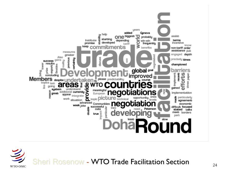 24 Sheri Rosenow - WTO Trade Facilitation Section