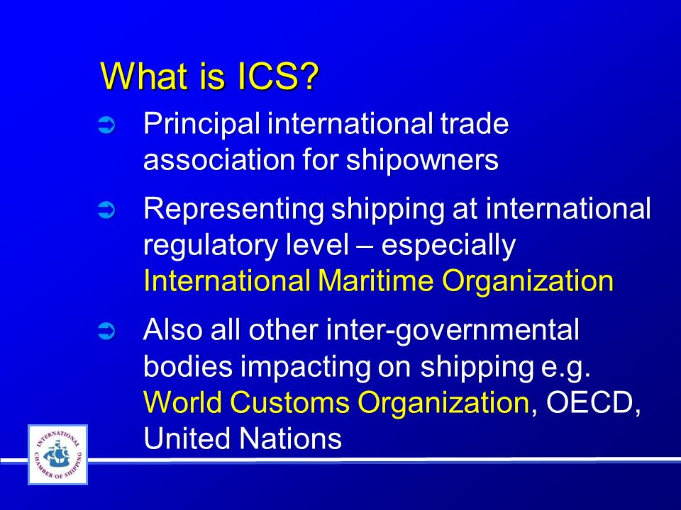 What is ICS. What is ICS.