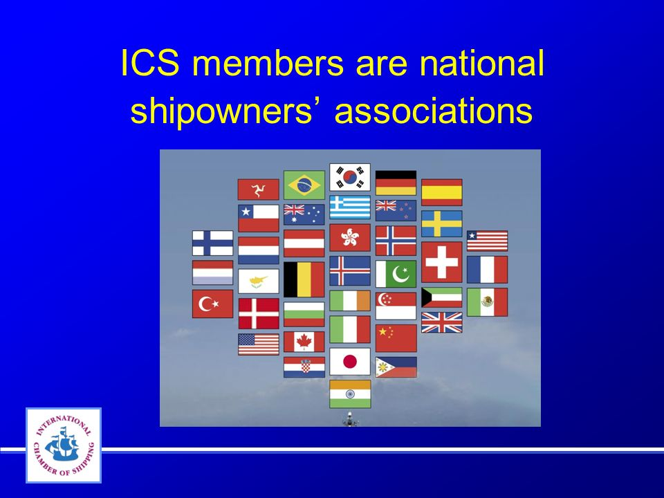ICS members are national shipowners associations Passenger ships