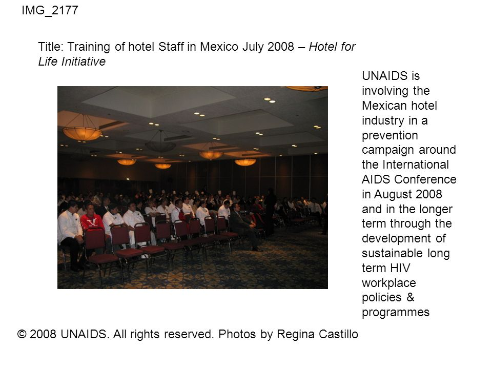 © 2008 UNAIDS. All rights reserved.