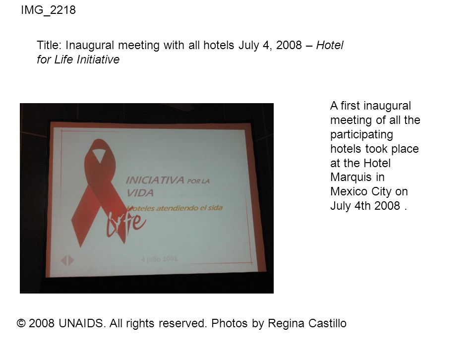 © 2008 UNAIDS.All rights reserved.