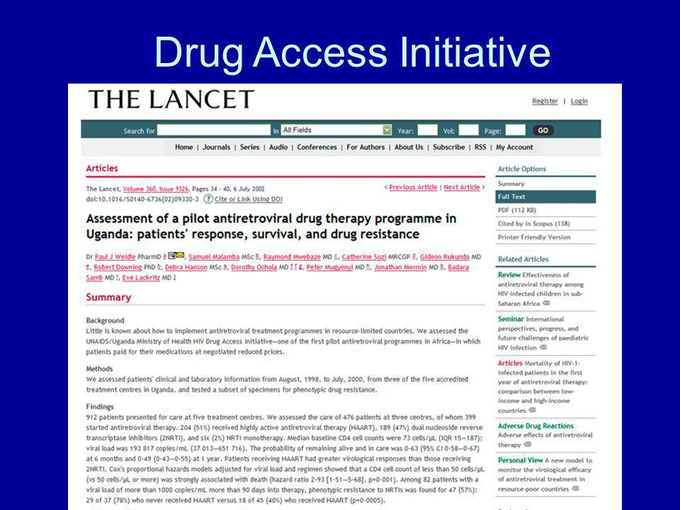 Drug Access Initiative