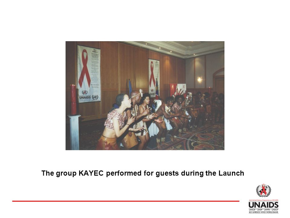The group KAYEC performed for guests during the Launch