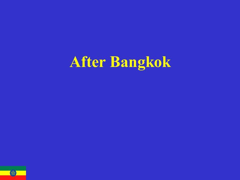 After Bangkok