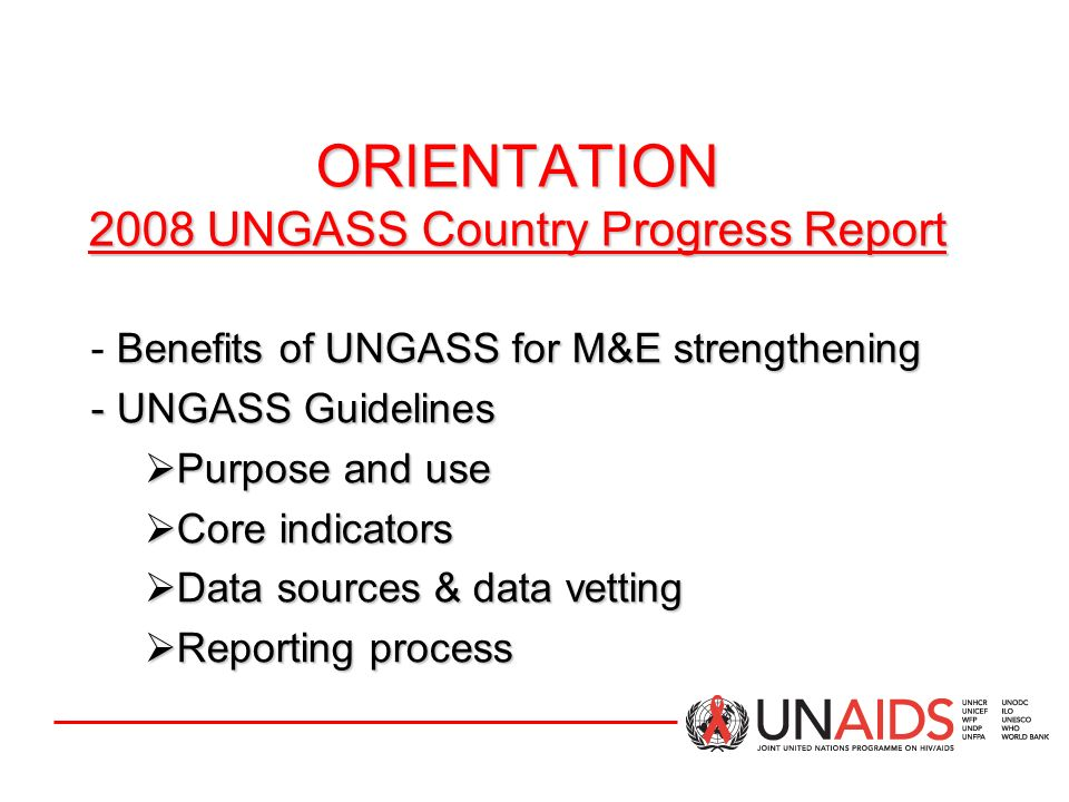 COUNTRY PROGRESS REPORT Indicator Data COUNTRY PROGRESS REPORT Indicator Data