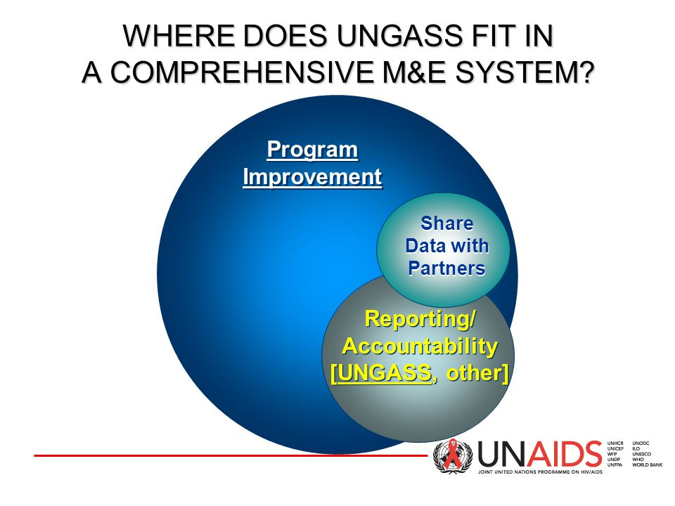 BENEFITS OF USING CRIS (continued) In addition to use for UNGASS reporting and reporting to donors CRIS can be used for the management of all monitoring information at the national and sub-national levels Submission of report