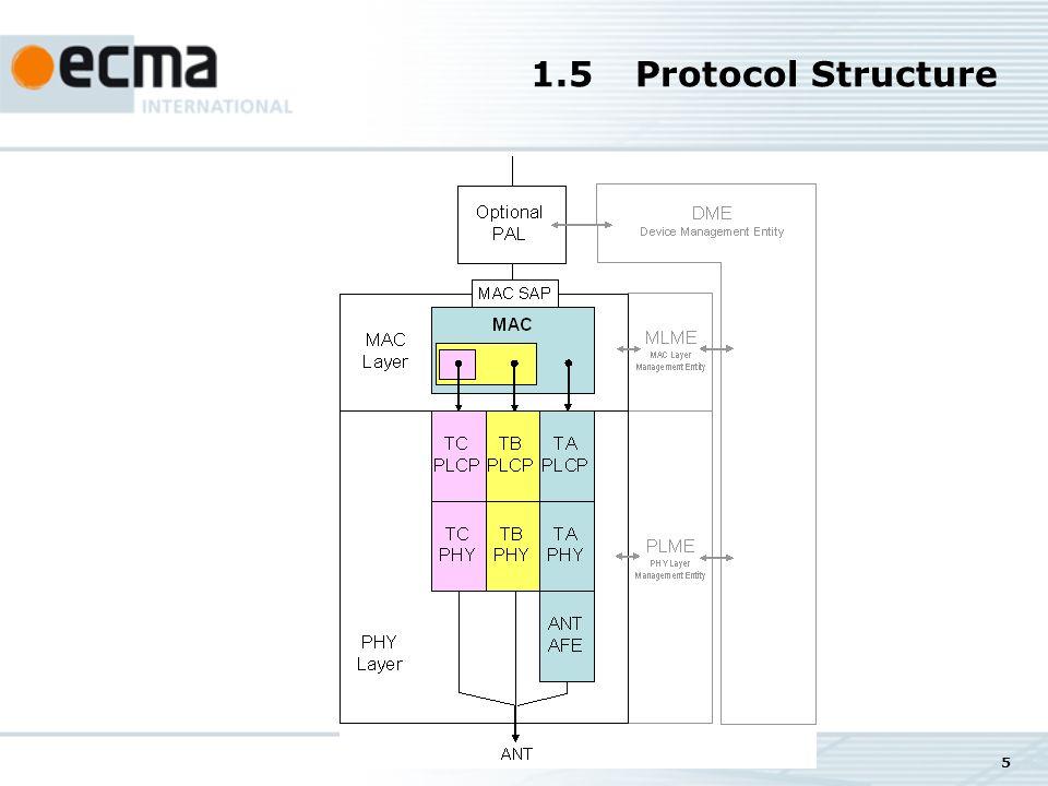 5 1.5Protocol Structure