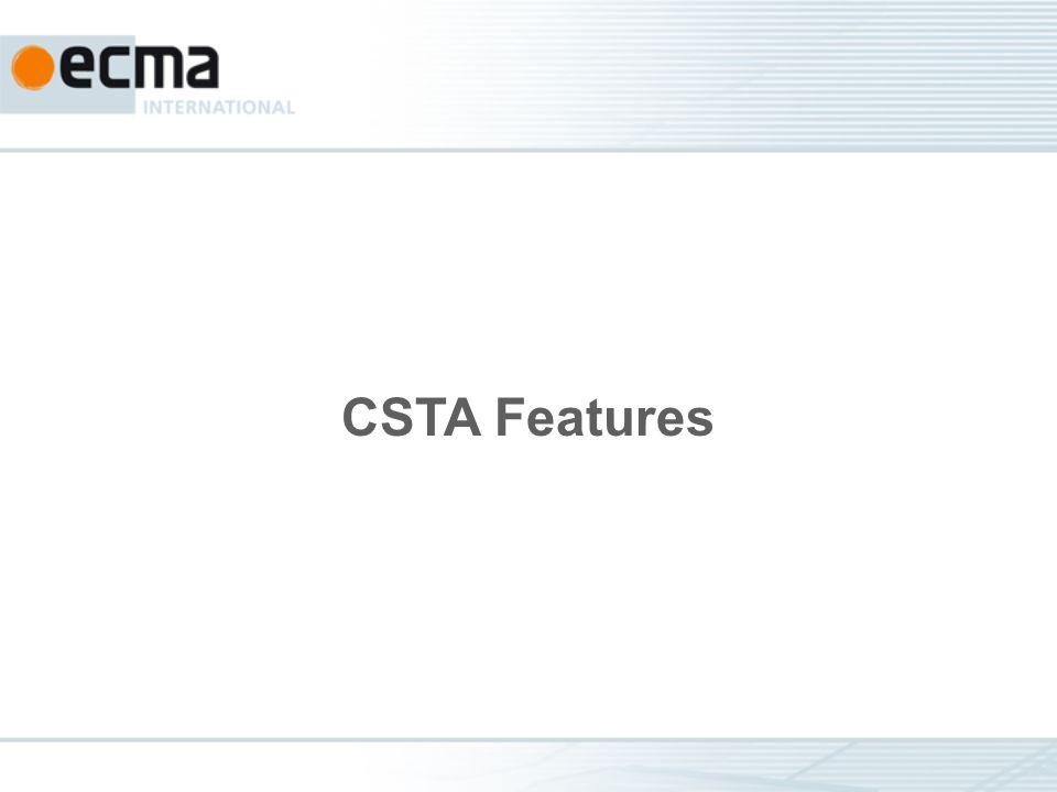 CSTA Features