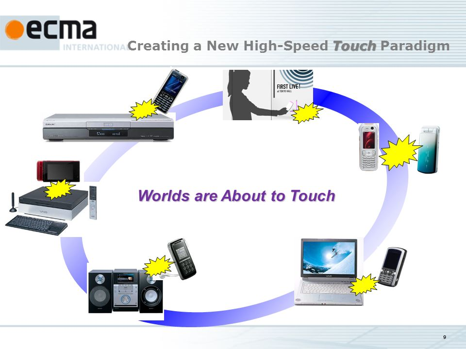 9 Worlds are About to Touch Worlds are About to Touch Touch Creating a New High-Speed Touch Paradigm