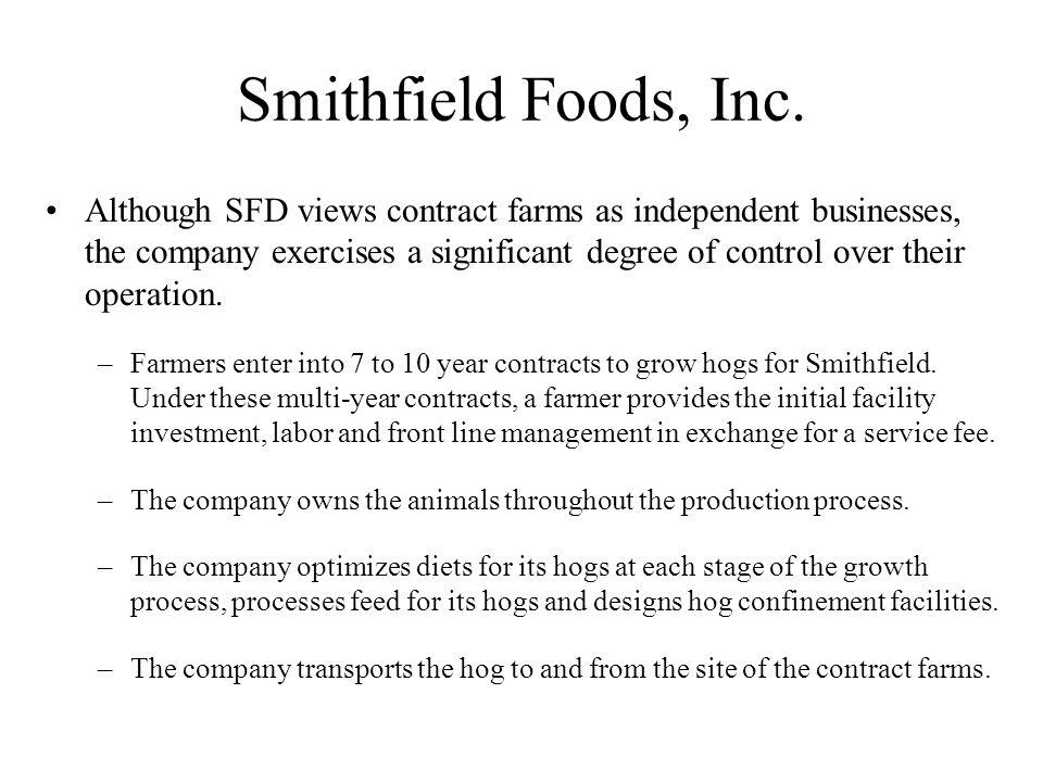 Smithfield Foods, Inc.