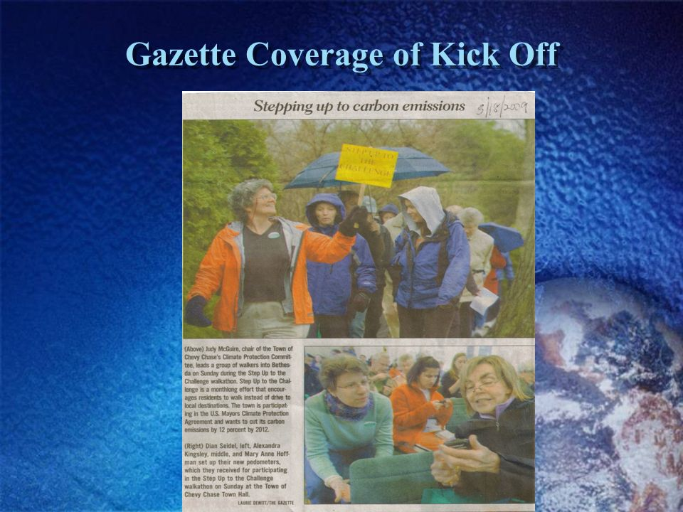 Gazette Coverage of Kick Off