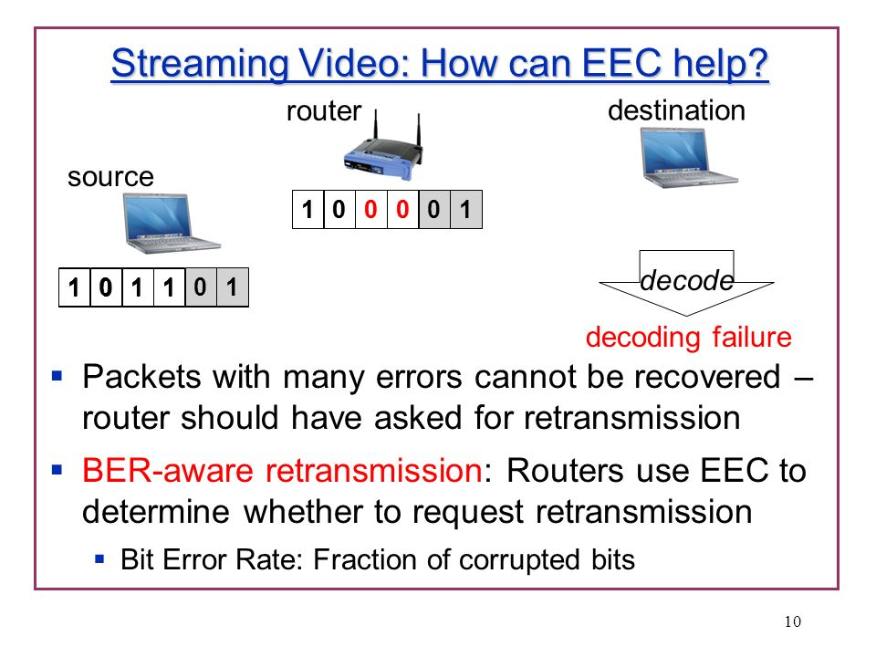 Streaming Video: How can EEC help.