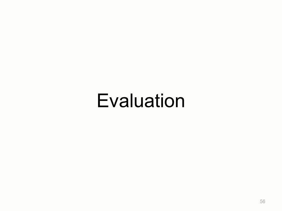 Evaluation 56