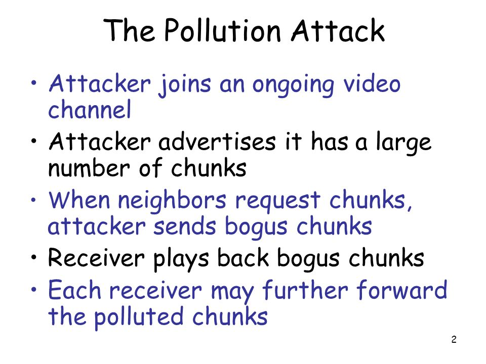 3 Peer Polluter request