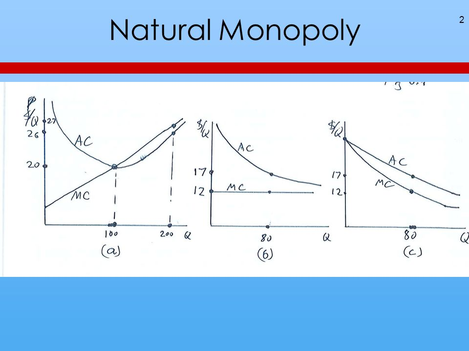 Natural Monopoly 2