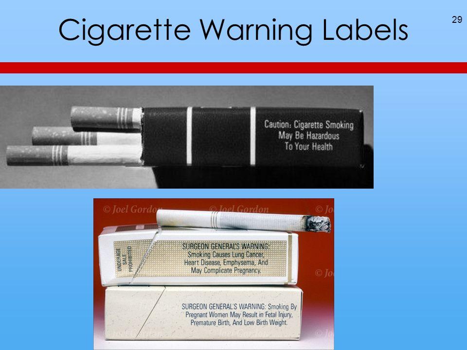 Cigarette Warning Labels 29