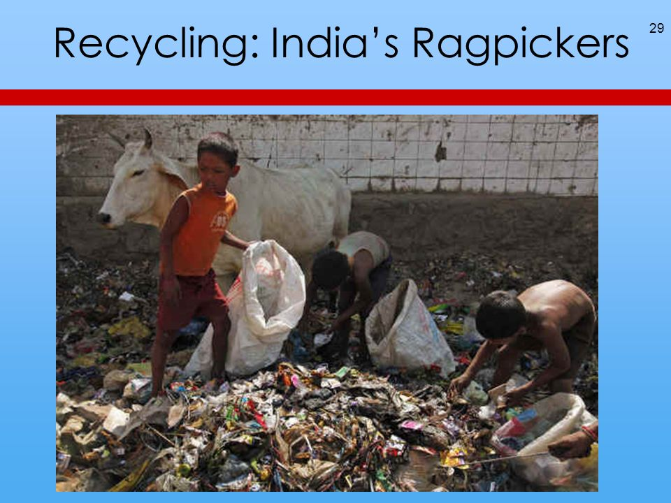 Recycling: Indias Ragpickers 29