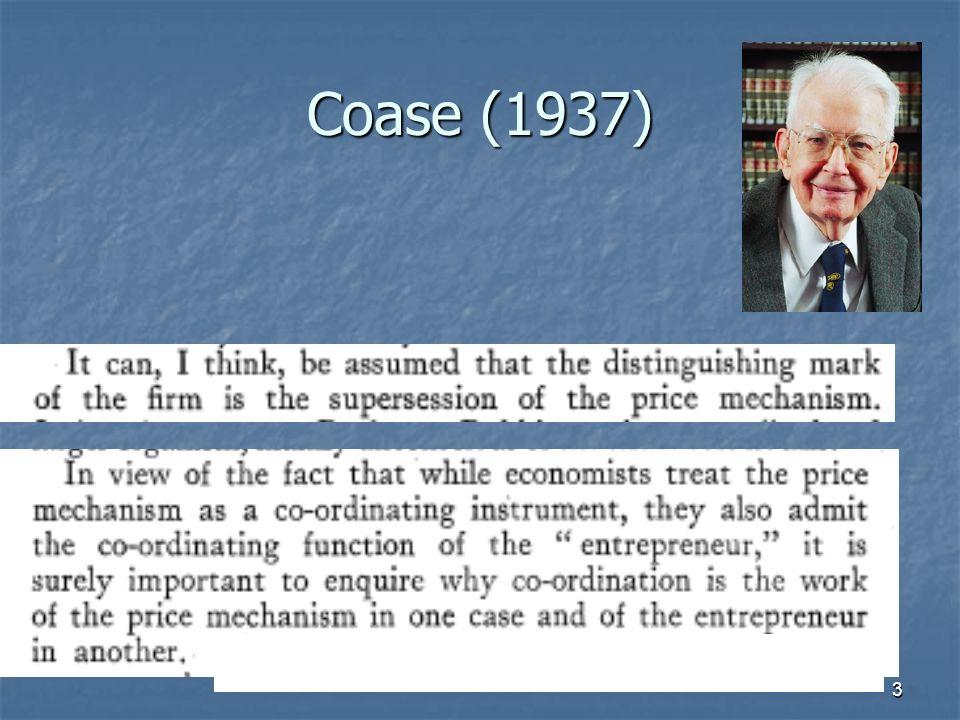 3 Coase (1937)