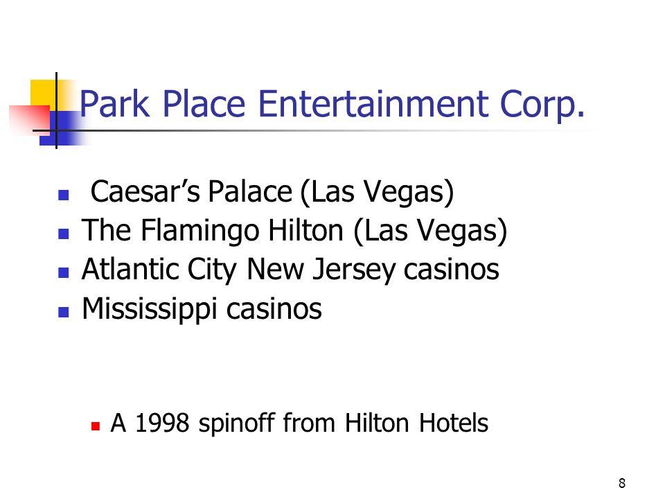 8 Park Place Entertainment Corp.