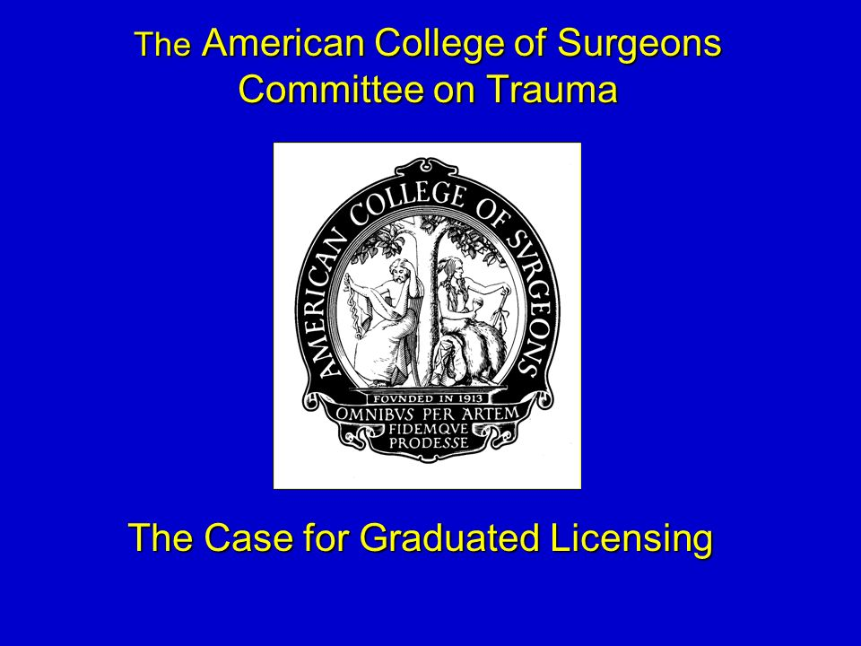 The Case for Graduated Licensing