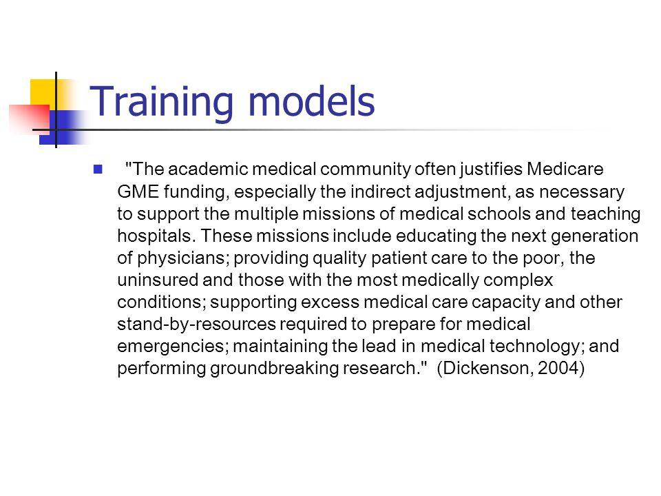 Training models
