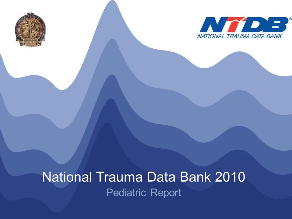 NTDB ® Annual Pediatric Report 2010 © American College of Surgeons 2010.