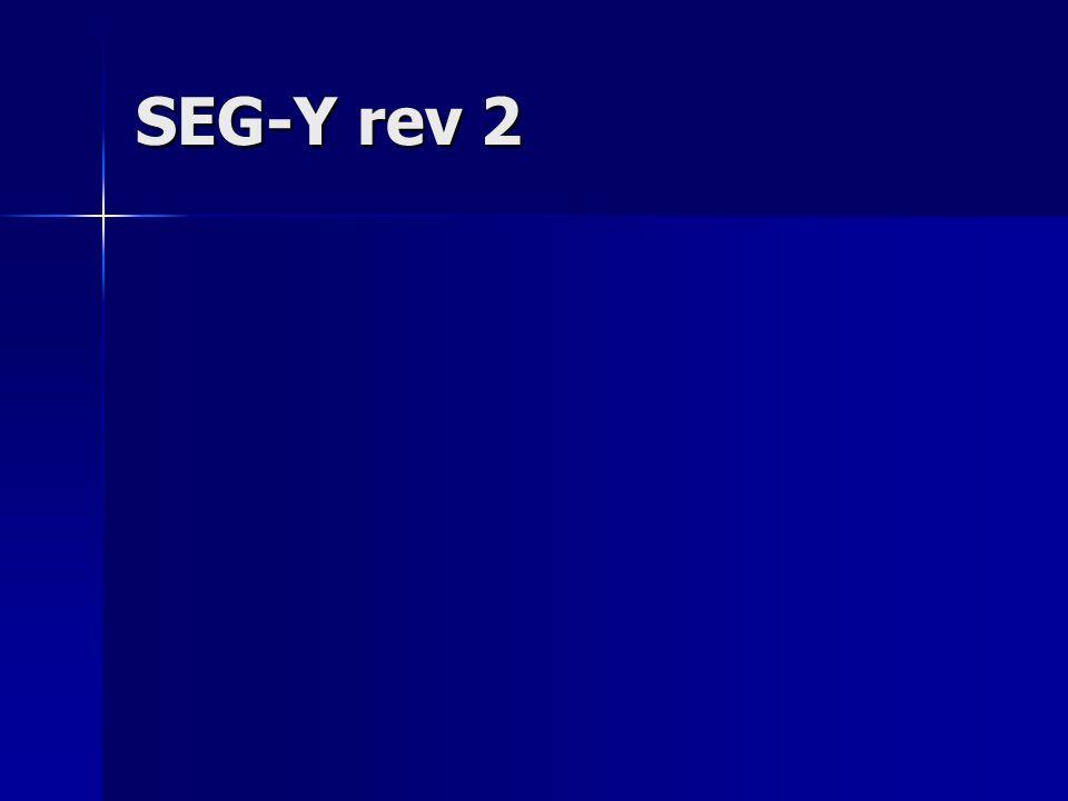 SEG-Y rev 2