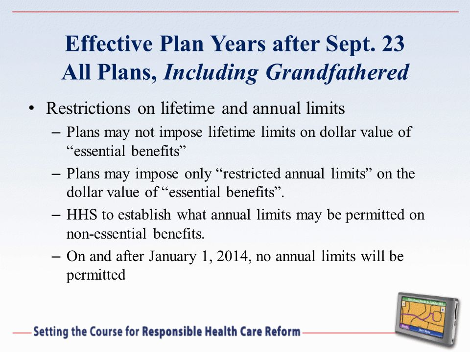 Effective Plan Years after Sept.