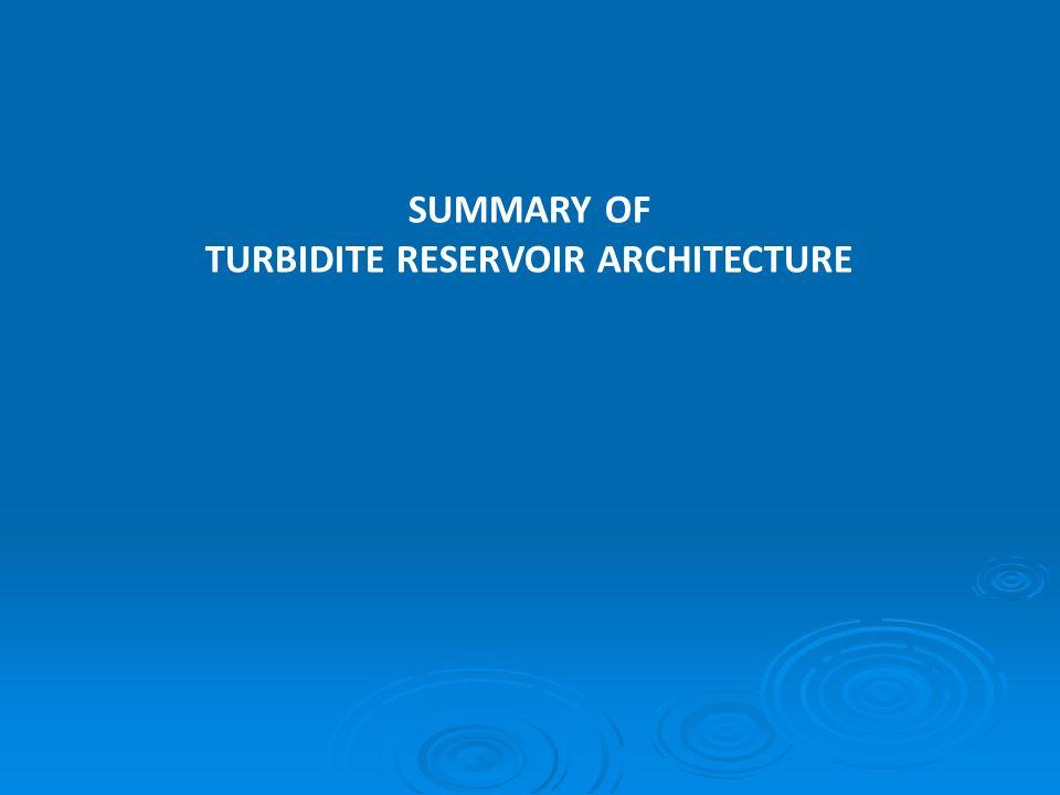 SUMMARY OF TURBIDITE RESERVOIR ARCHITECTURE
