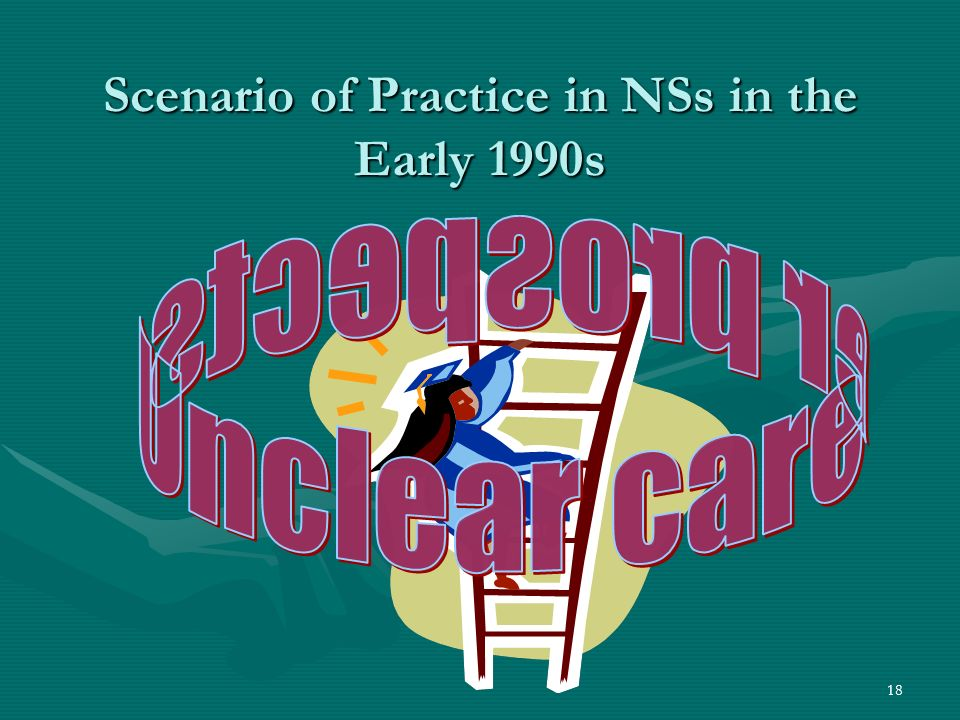 18 Scenario of Practice in NSs in the Early 1990s