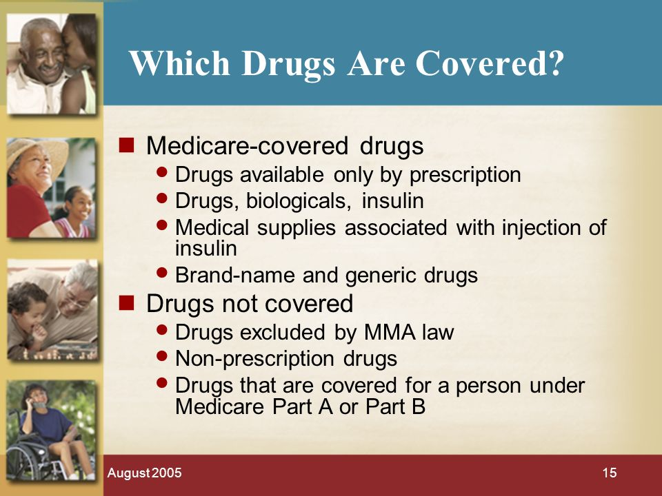 August Which Drugs Are Covered.