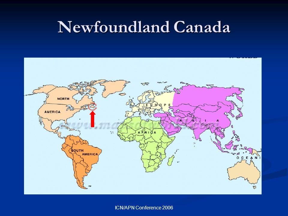 ICN/APN Conference 2006 Newfoundland Canada