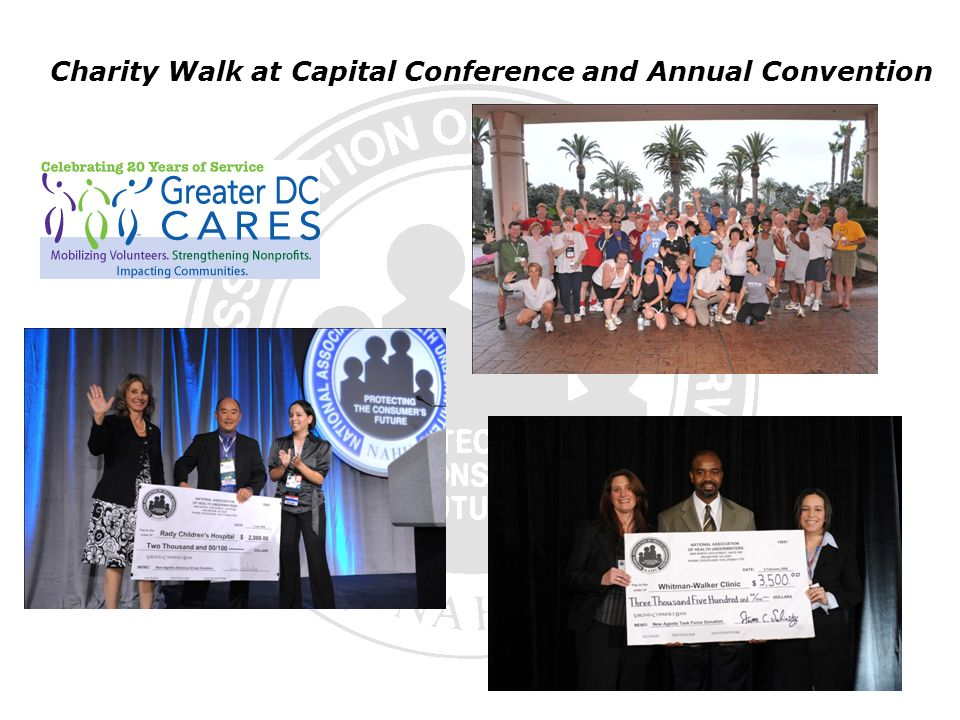 Charity Walk at Capital Conference and Annual Convention