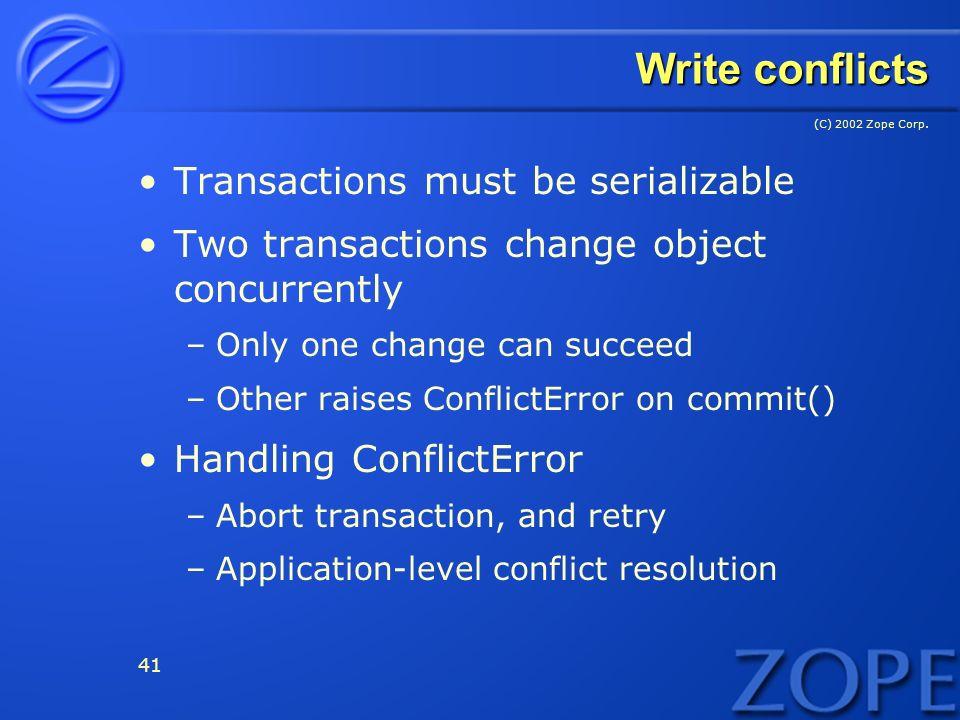 (C) 2002 Zope Corp.