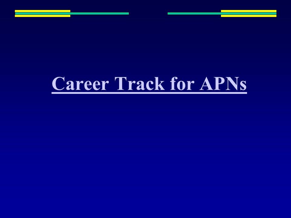 Career Track for APNs