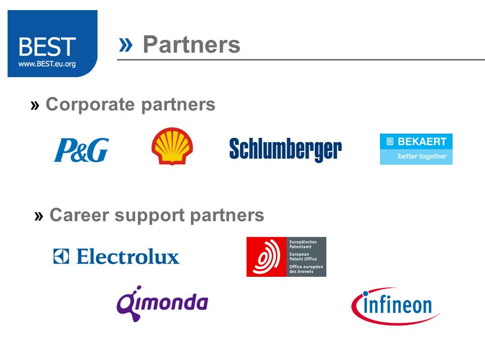 » Career support partners » Partners » Corporate partners