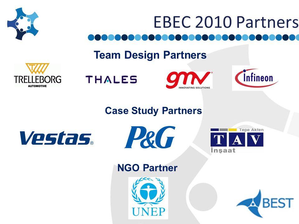 EBEC 2010 Partners Team Design Partners Case Study Partners NGO Partner