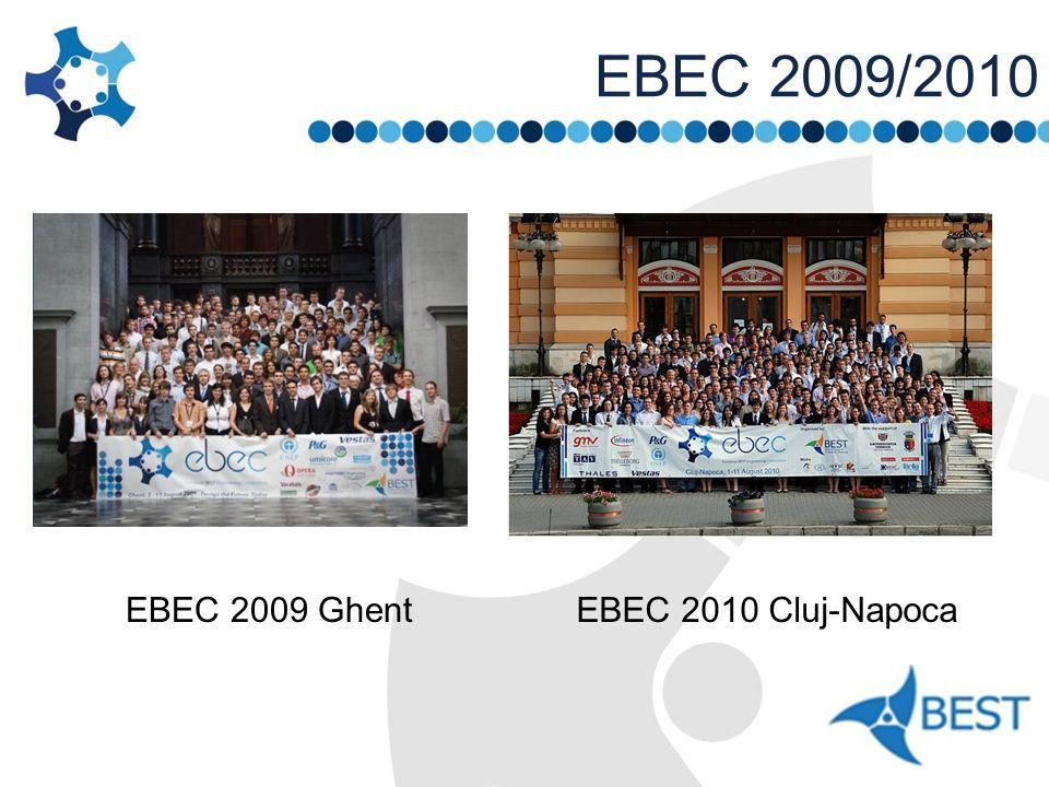 EBEC 2009/2010 EBEC 2009 GhentEBEC 2010 Cluj-Napoca