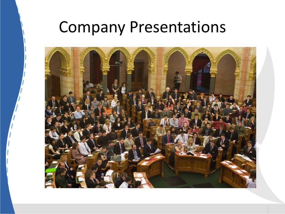 Company Presentations