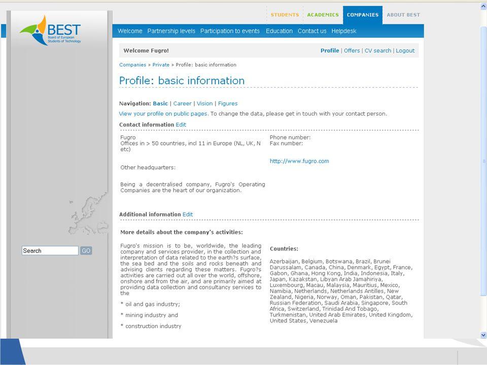 Company Profile Company Activities Company Culture Recruitment Procedure Alumni Opinions