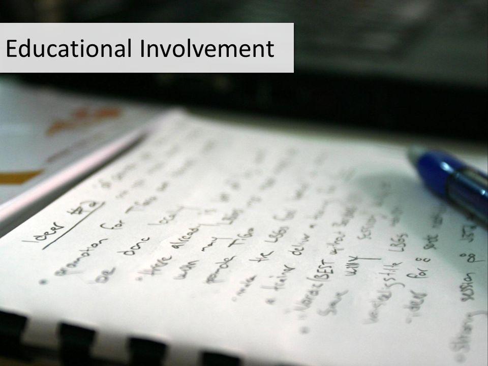 Educational Involvement