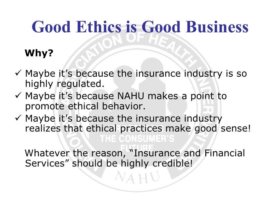 Health Care Morality vs.