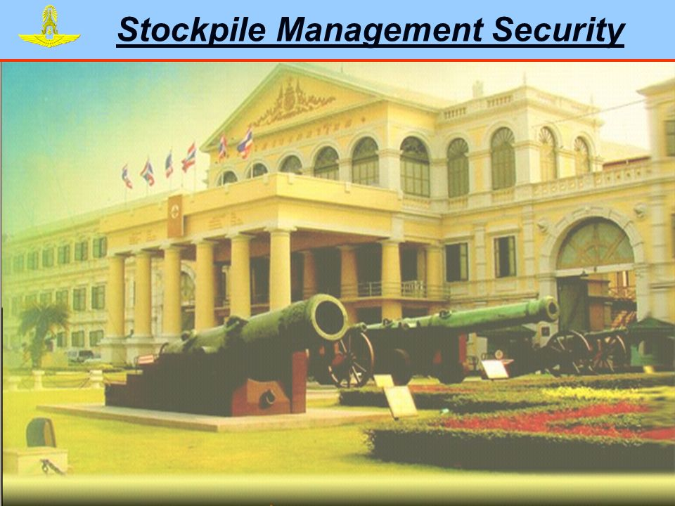 Stockpile Management Security