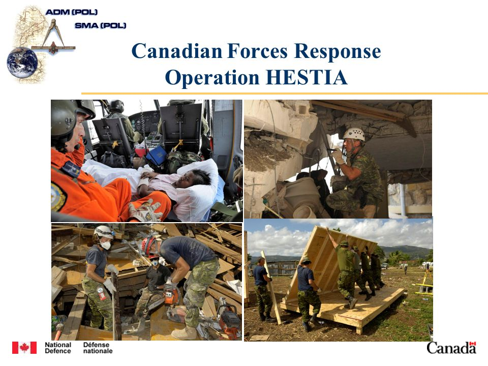 Canadian Forces Response Operation HESTIA