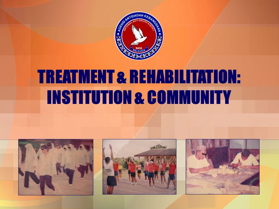 TREATMENT & REHABILITATION: INSTITUTION & COMMUNITY