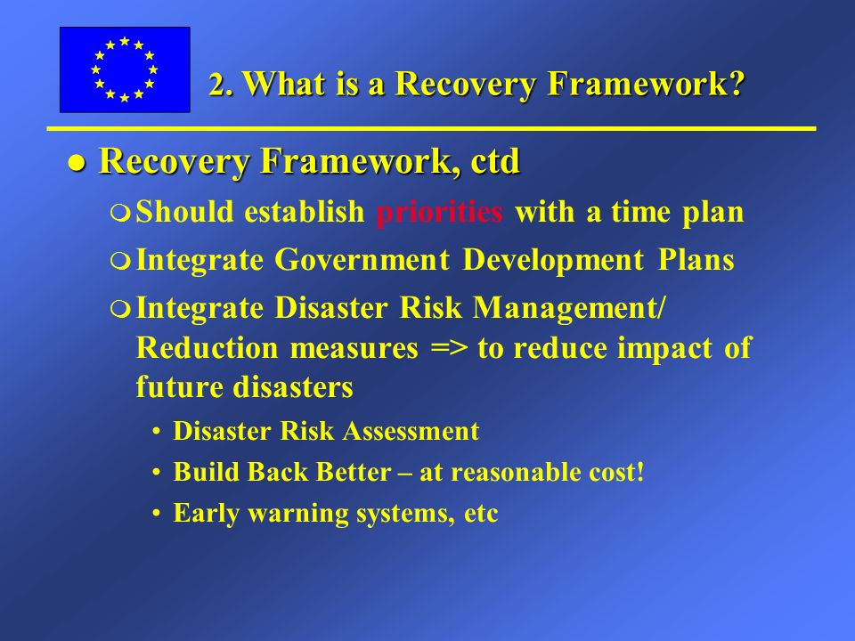 3.Cooperation EU-WB-UN l Need for coordinated approach (e.g.